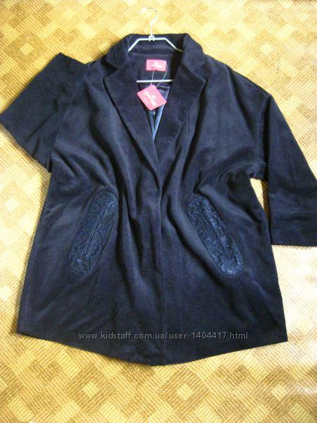 стильное пальто, полупальто, кардиган Together - 20Uk - наш 52-54рр. - новое