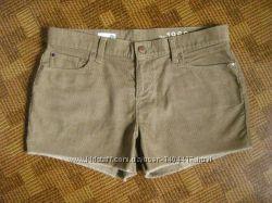 вельветовые шорты GAP - размер L - 44-46рр.
