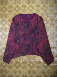 красивая туника, блуза, кокон Max - большой размер - L - наш 48-50рр.