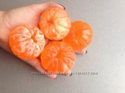 Новогоднее мыло мандарин