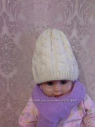 шапка зимняя подростковая