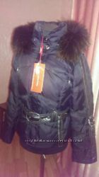 пуховая фирменная куртка snowimage