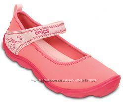 Крокс crocs Girls&180 Duet Busy Day Shoe J6