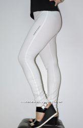 Новые   спортивные штаны, размер 42-48, белые