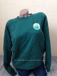 Очень теплый зеленый свитер р. М-L