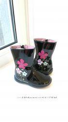Детские кожаные лакированные ботиночки KidExpress 21 размер
