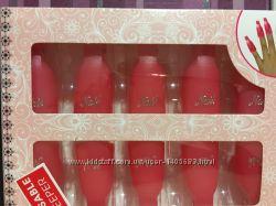 Набор клипс nail прищепок для снятия гель-лака, многоразовые 10 шт