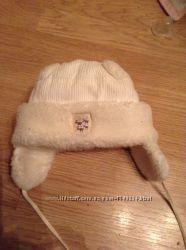 Классная зимняя шапочка 46-47 см