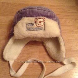 Зимние шапочки на малыша, 0-3 м и на 44см