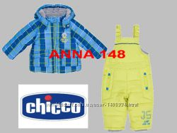 Зимний раздельный комбинезон Chicco термо для мальчика 2 года 92 см.