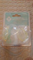 Соски - пустышки светящиеся 2 шт в комплекте Tex baby Франция