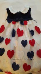 Платье monnalisa bebe Италия.   1, 5-2 года
