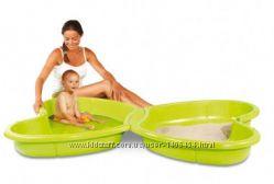 Песочница-бассейн с подводом для воды SMOBY 310143