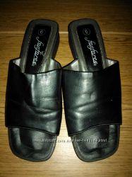 Туфли Сабо Шлепки FANFARES Чёрные Размер 36 Оригинал из США клоги