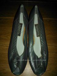 Женские туфли босоножки HIGHLIGHTS серые Лоферы Оригинал из США