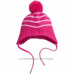 взаная шапка H&M для девочки. распродажная цена