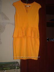 Платье с баской, RIVER ISLAND р. 46
