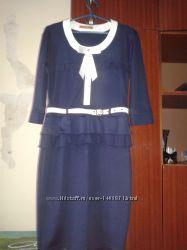 Платье с баской р. 42-44