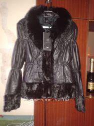 Куртка кожаная НОВАЯ  р. 44-46