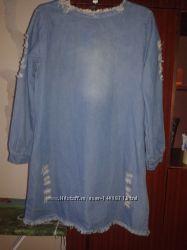Платье джинсовое р. 44