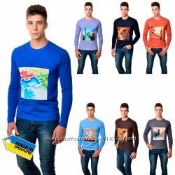 Реглан мужской с Принтом - 9 разных разцветок