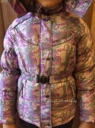Очень теплая красивая зимняя куртка