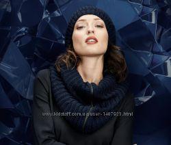 Вязанный шарф-снуд на молнии от Тсм Tchibo
