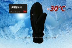 Лыжные подростковые рукавицы р. SM Thinsulate 40г Walmart США