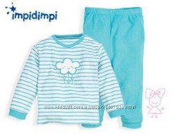 Махровая пижама на девочку р. 62, 68 Impidimpi Германия
