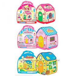 Детская палатка-домик с алфавитом для игры, 96-96-106