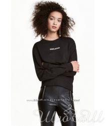 Свитшот H&M чёрный