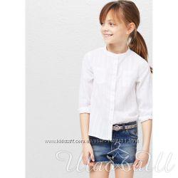 Блуза хлопковая Mango