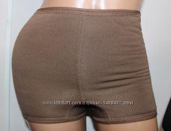 Женские термошорты с плоскими швами 40-46р коричневые