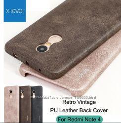 Чехол кожаный Vintage для Xiaomi Mi5s Plus Redmi Note 4.