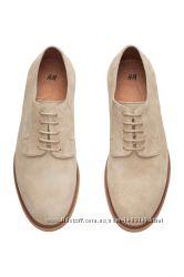 Швеция, H&M, PREMIUM QUALITY, Н&M - Кожаные туфли р. 42