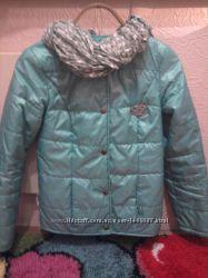 Легкая курточка цвета мяты