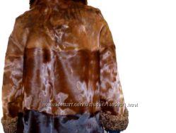 Меховое пальто для автоледи