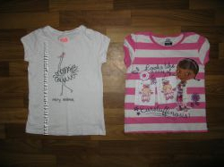 футболки, блуза и майки девочке на 3-6 лет
