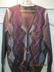 Кофта теплая мужская 50 размера Zara Man