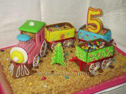Сладости, выпечка, детские торты