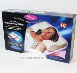 Подушка для здорового сна, подушка с памятью  Memory Pillow  Мэмори Пило