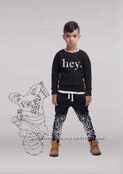 Детский утеплённый джемпер для мальчика ЭЙ черный