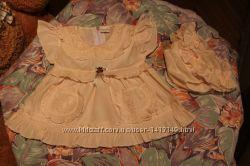 Пакет святкового одягу для дівчинки 0-6 міс.