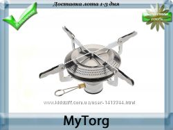 Горелка газовая складная с пьезо outdoor stoves