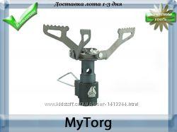 Супер легкая и компактная газовая горелка titanium alloy brs-3000t
