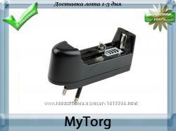 Универсальное зарядное устройство для li-ion аккумулятора 3. 7v 18650 16340