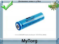 Аккумулятор 14500 bailong li-ion 2200 mah 4. 2v номинальное напряжение 3.