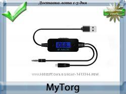 Fm трансмиттер fm-185, модулятор для авто