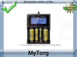 Зарядное устройство xtar vc4 для li-ion и ni-mh аккумуляторов