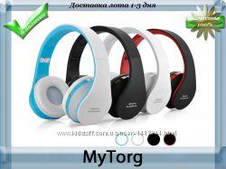 Складные беспроводные bluetooth наушники wireless headphones
